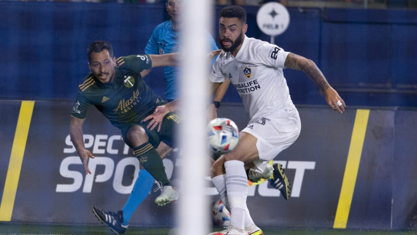 MEDIA   Sebastián Blanco about the loss to LA and his goal--was it a cross or a shot?