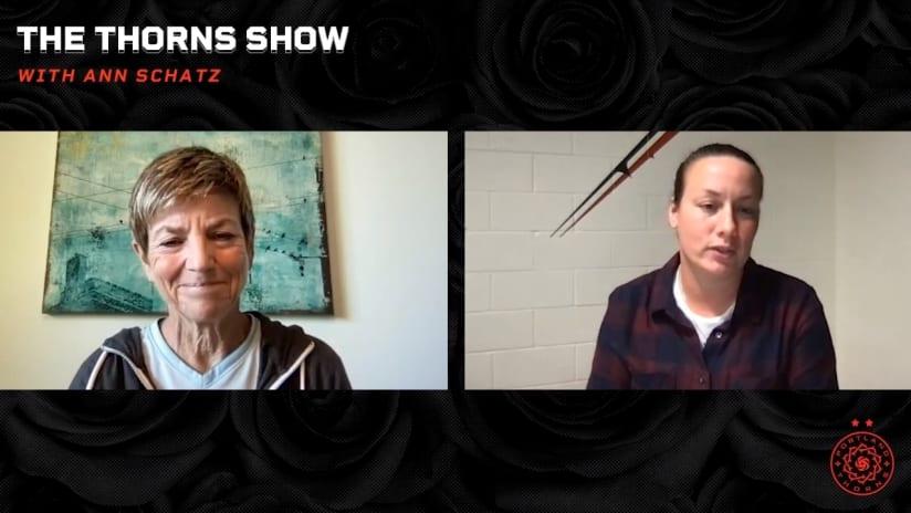 WATCH   Sophie Clough talks about win over North Carolina with Ann Schatz