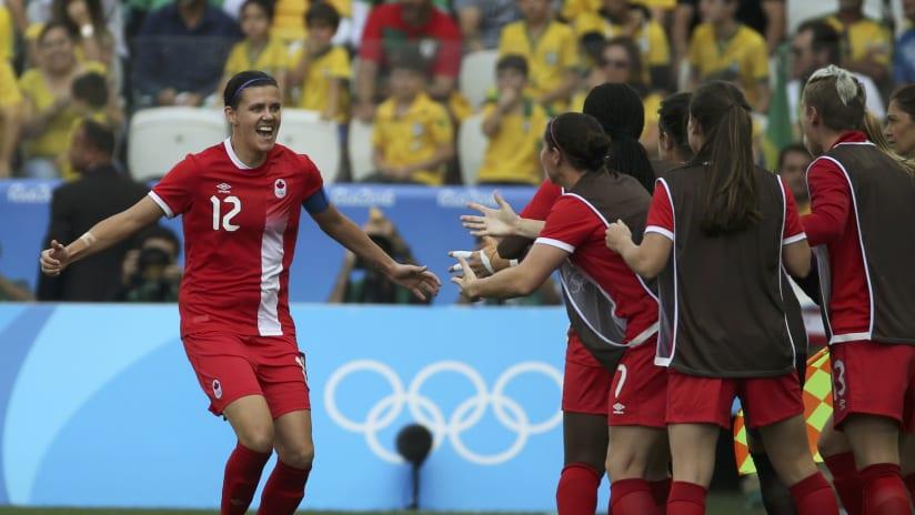 Christine Sinclair, Canada vs. Brazil, 8.19.16