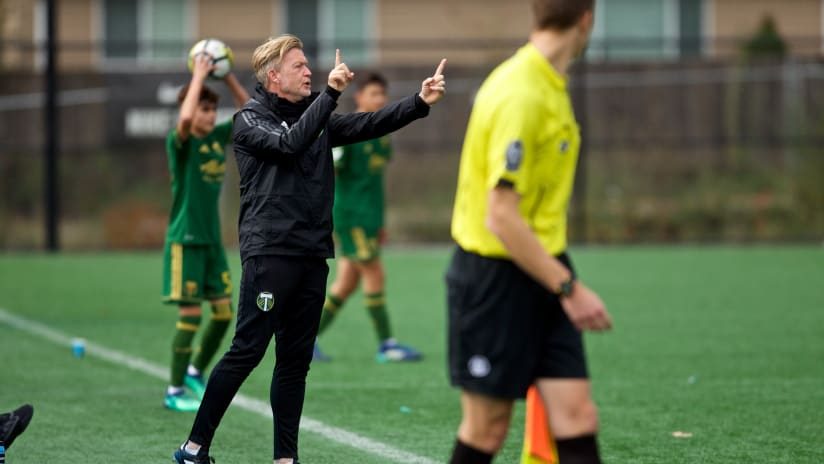 Timbers announce departure of youth technical director Larry Sunderland
