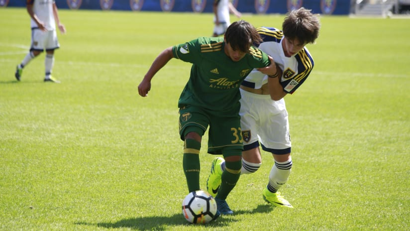 Adrian Villegas, Timbers Academy at RSL Academy, 09.02.17
