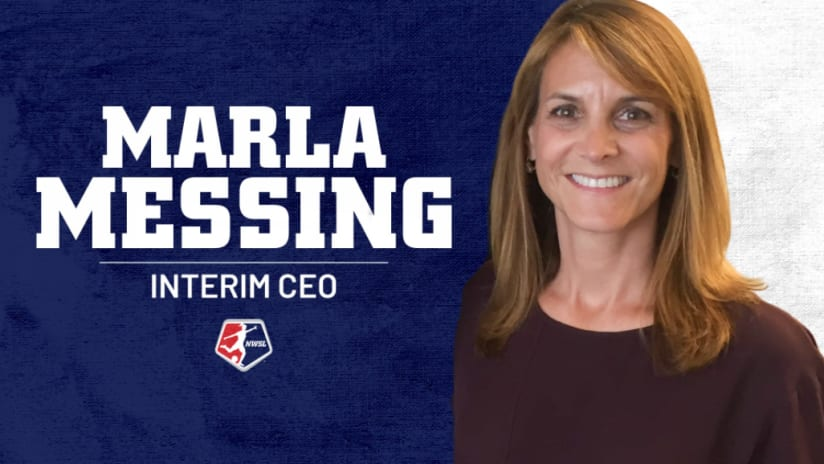 National Women's Soccer League appoints sports executive Marla Messing as interim CEO