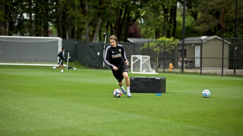 Jorge Villafana, training, 5.19.20