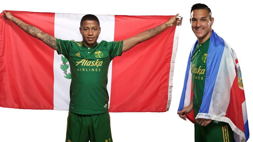 Andy Polo, David Guzmán, World Cup call up, 6.4.18