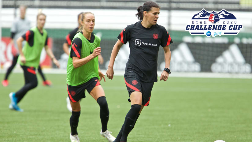 Thorns roster announce, Challenge Cup, 6.23.20