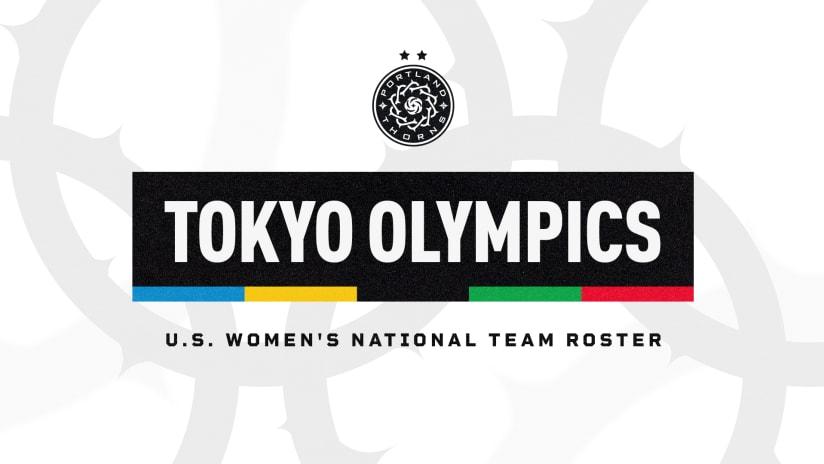 USWNT Olympic call ups, 6.23.21