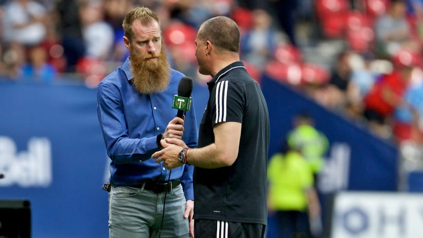 PODCAST | Part Two of Smith's chat with Nat Borchers: Triathalons, banter with Futty Danso and more