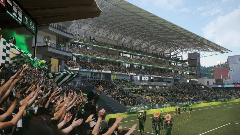 New eastside stadium expansion project beginning at Providence Park this offseason -