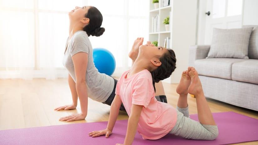 Providence Health Tips - Mom Daughter Yoga