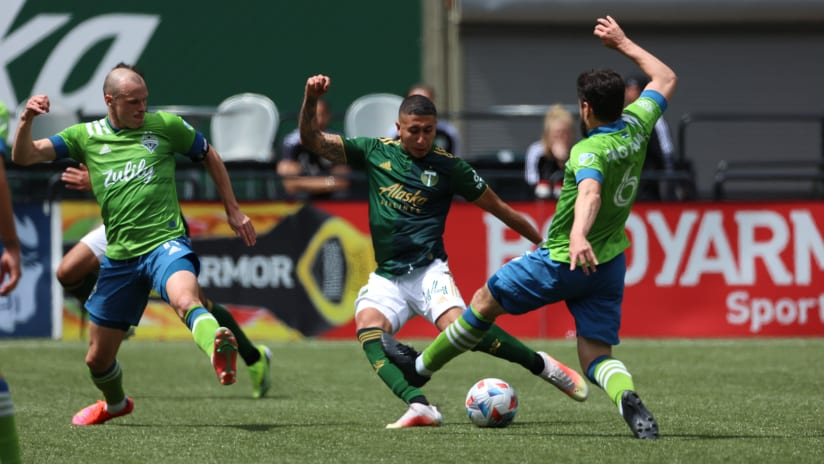 Marvin Loria, Timbers vs Sounders, 05.09.21