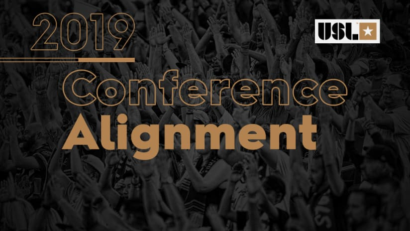 2019 USL Conference Alignment, 12.13.18