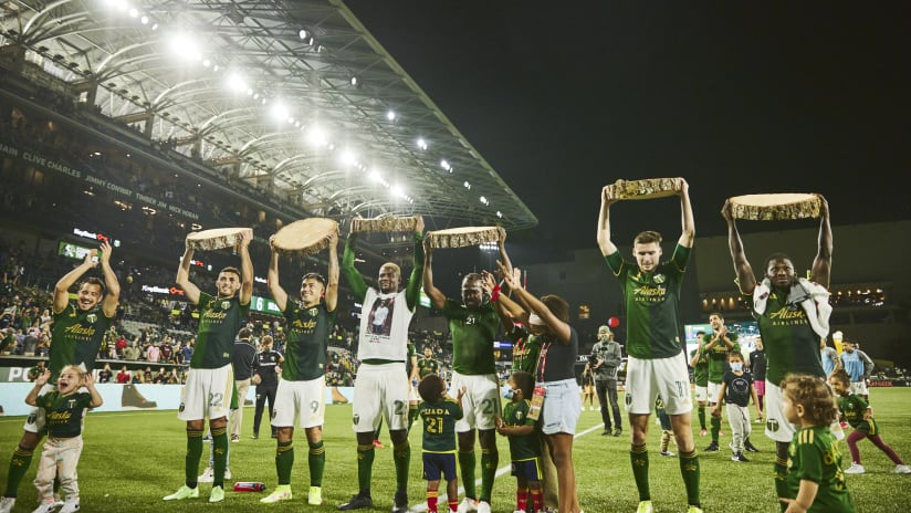 Night in Pictures | Timbers with massive win over RSL in beautiful fall night