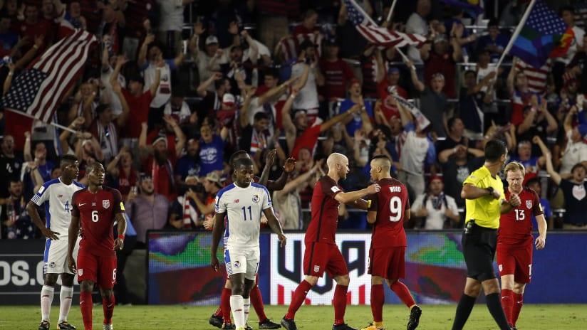 Darlington Nagbe, USMNT vs. Panama, 10.6.17