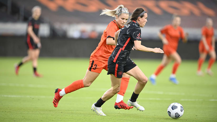 WATCH | Final moments in Houston as Thorns win the NWSL Shield