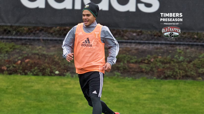 Andres Flores, training, 1.22.19
