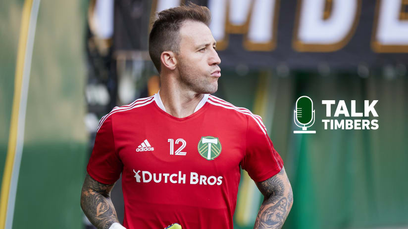 PODCAST | Steve Clark joins Talk Timbers and explains his phone call celebration