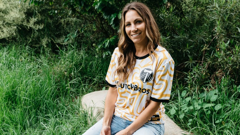 Help Kick Childhood Cancer with this special Timbers prematch adidas jersey