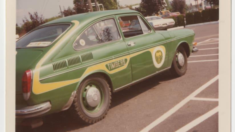 Portland Timbers Car NASL 1978