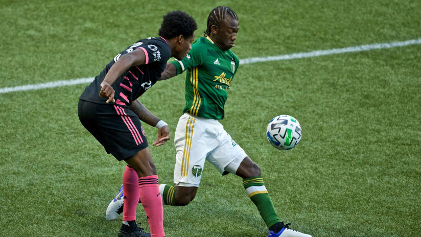 Diego Chara #3, Timbers vs. Seattle, 8.23.20