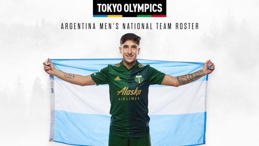 Claudio Bravo, Argentina Olympic Callup, 7.12.21
