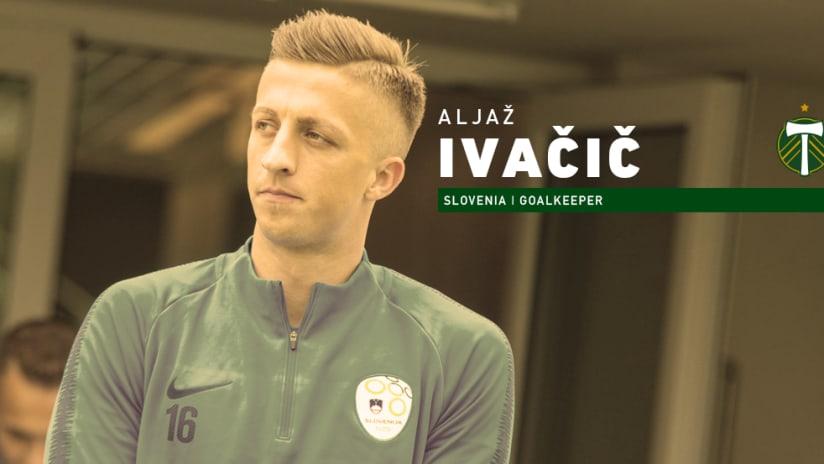 Aljaz Ivancic announce, 1.18.19