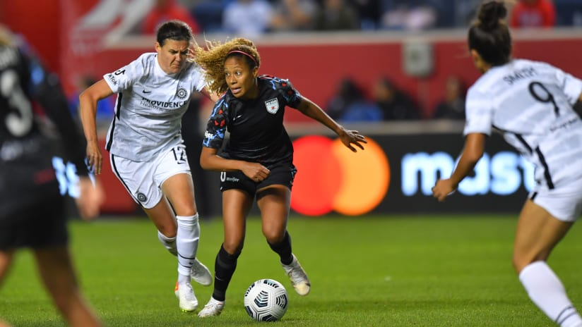 NWSL RECAP | Thorns FC fall, 2-1, on the road to Chicago Red Stars