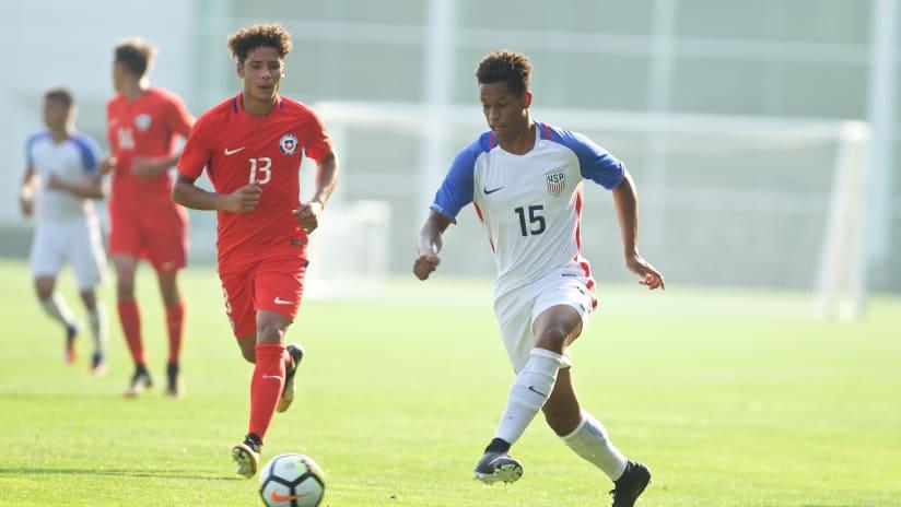 Akil Watts, Timbers Academy, U.S. Soccer, 09.15.17