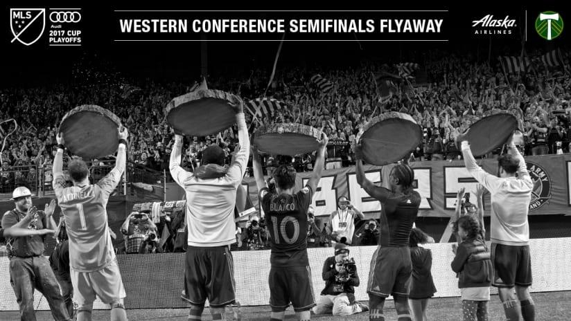 Timbers MLS Cup Playoffs Alaska Airlines Flyaway, 10.23.17