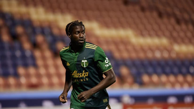 Ismail Jome, Timbers at Vancouver Whitecaps, 04.18.21