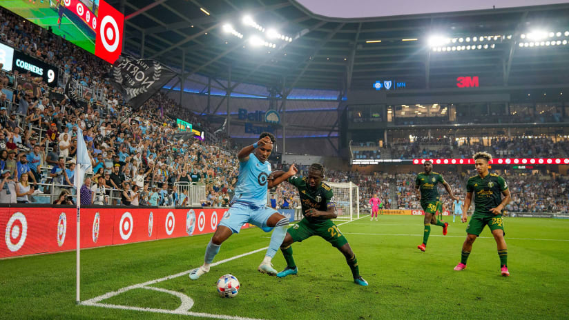Night in Pictures | Timbers lose a close one in Minnesota