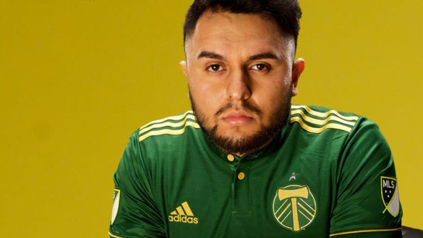 Timbers re-sign Edgar Guerrero for 2021 eMLS season