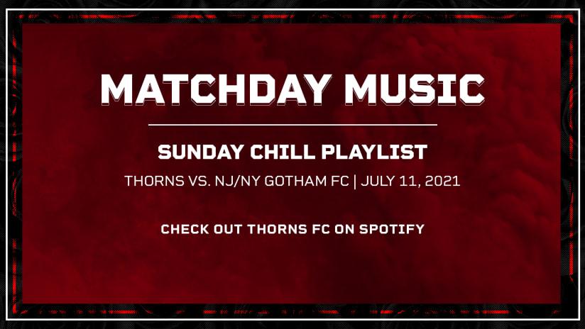 Thorns Matchday Music 07.11.21