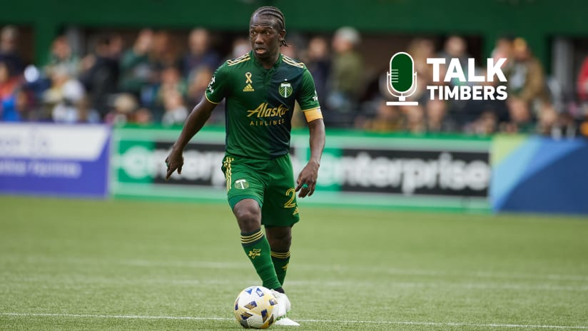 PODCAST | Diego Chara on Talk Timbers, a look ahead to #PORvRSL and more