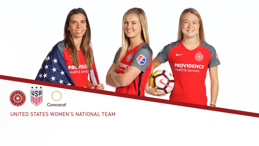 2018 USWNT Concacaf call up, 9.18.18
