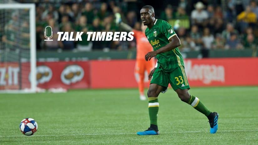 Larrys Mabiala, Talk Timbers, 9.4.19