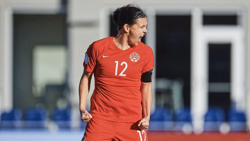 Christine Sinclair, Canada vs. St. Kitts, 1.29.20
