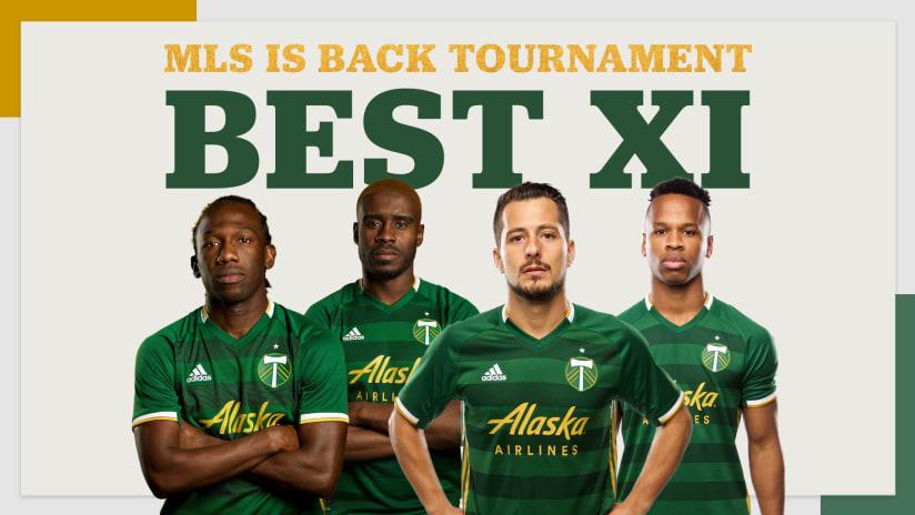 Tournament Best XI, 8.13.20