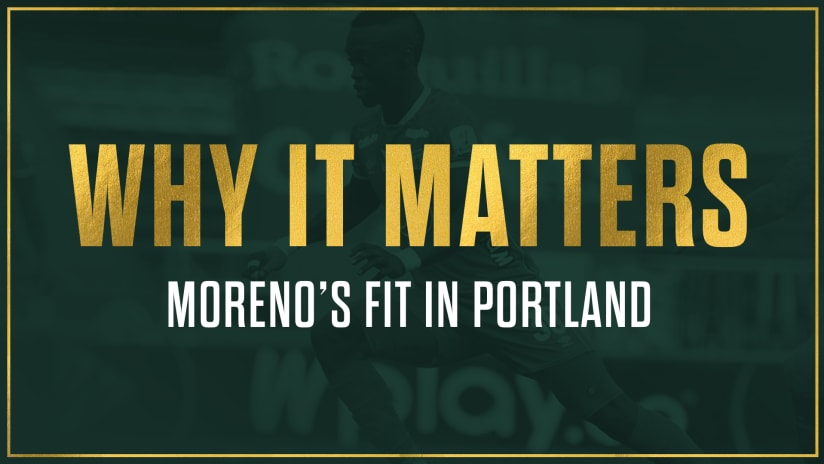 Why It Matters | Santiago Moreno: a new type of attacker for the Portland Timbers' roster