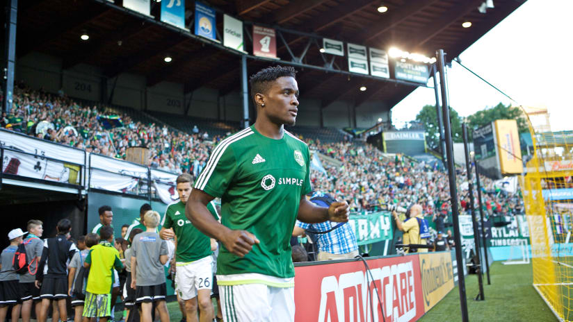 George Fochive, Timbers vs. KC, 9.9.15