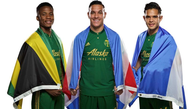 Alvas Powell, David Guzman, Andres Flores, international, 9.4.18