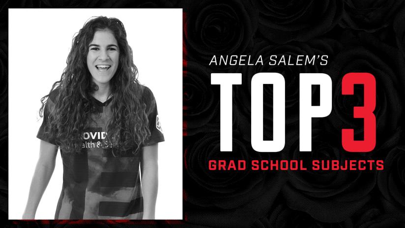 Angela Salem, Top 3, 5.7.20