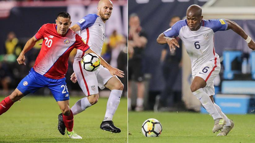 David Guzman, Darlington Nagbe, USMNT vs. Costa Rica, 9.1.17