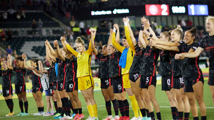 Night in Pictures   Thorns defeat Pride 2-1 at Providence Park