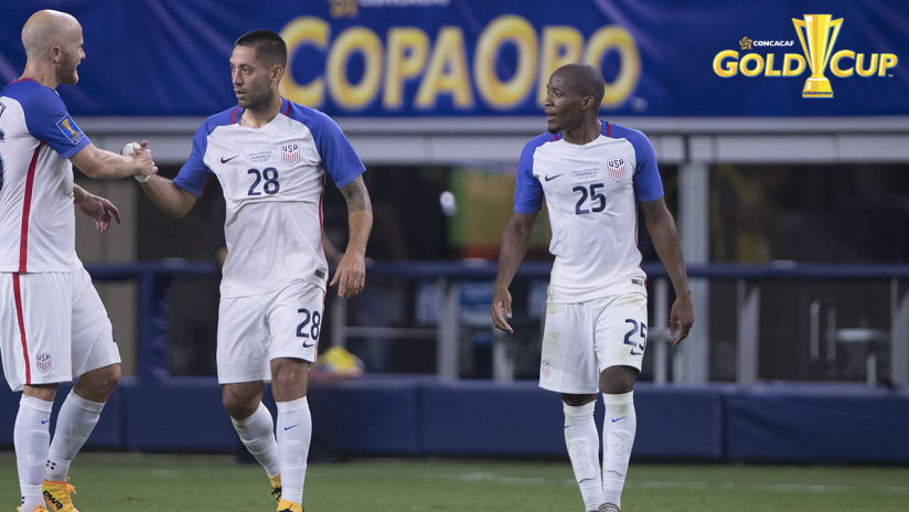 Darlington Nagbe, USMNT vs. Costa Rica, 7.22.17