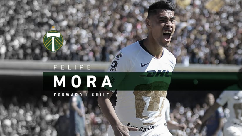 Felipe Mora announce, 1.31.20