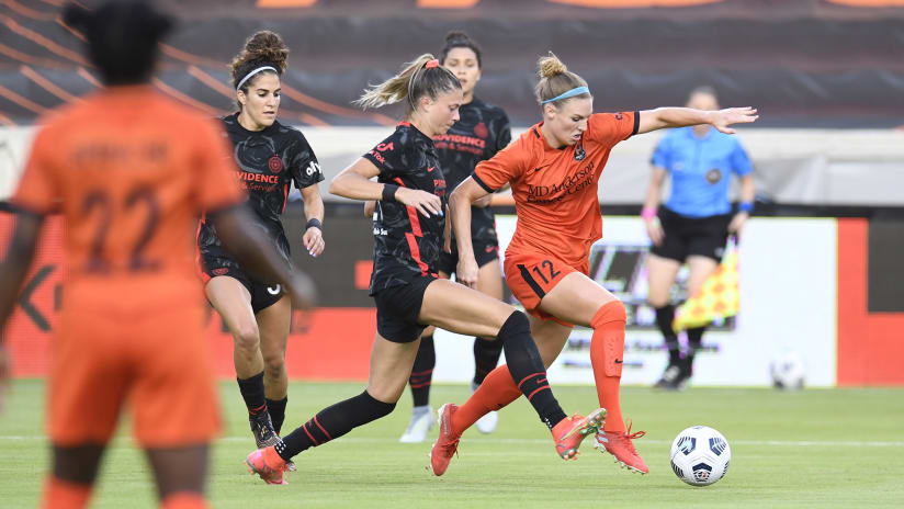 By The Numbers | Thorns keep it rolling with record-setting goal, defense in Houston