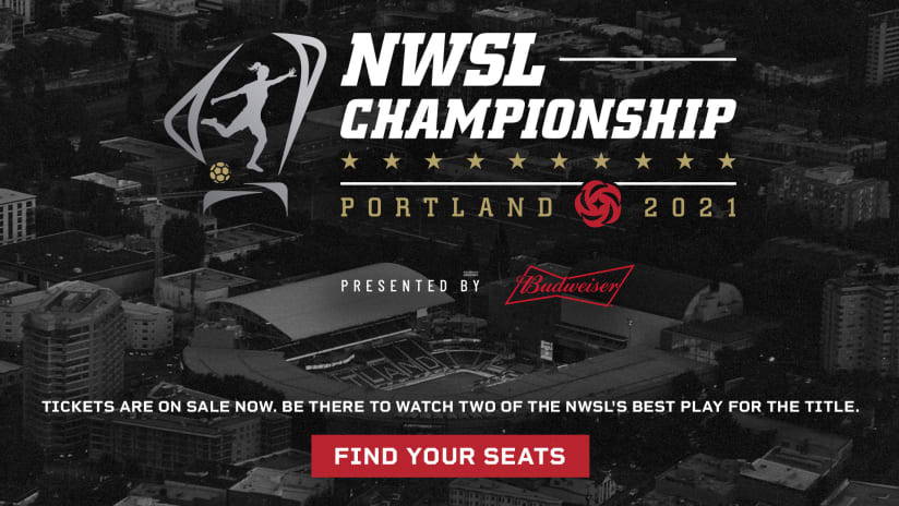 Tickets on sale now for 2020 NWSL Championship on Nov. 20 at Providence Park