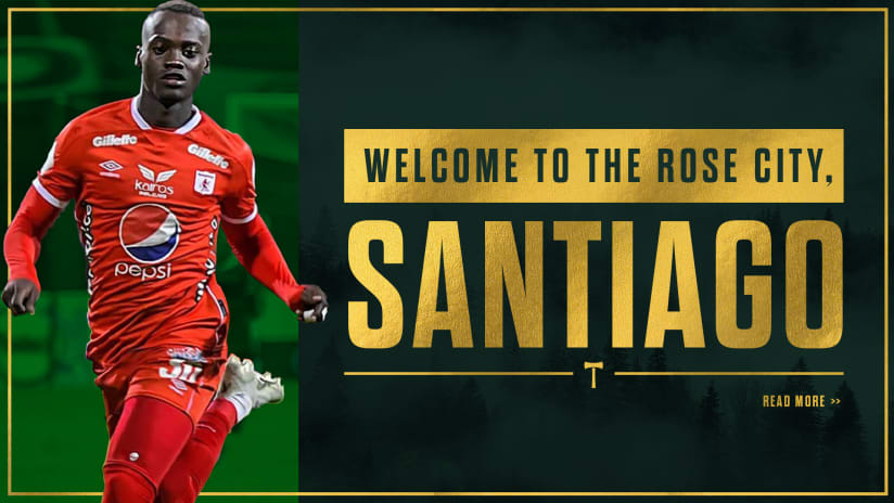 Timbers acquire midfielder Santiago Moreno