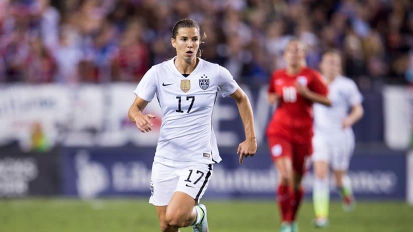 Tobin Heath, She Believes, U.S. vs. England, 3.3.16