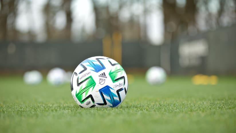 adidas MLS soccer ball, 2.11.20